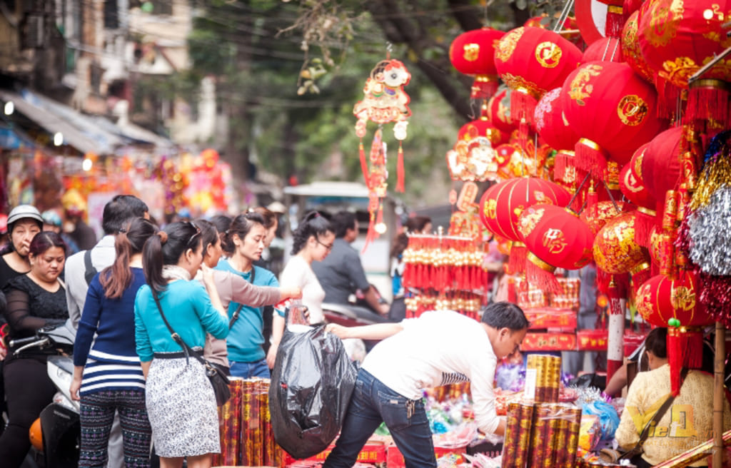 Tet Holiday in the first lunar month
